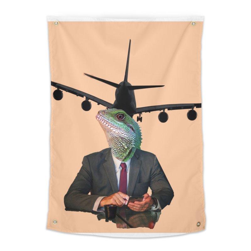 Lizard Agent Home Tapestry by TYNICKO Random Randoms Shop