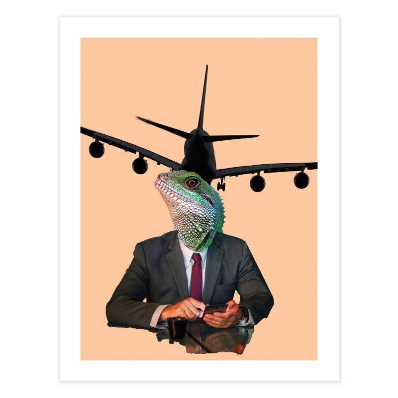 Lizard Agent Home Fine Art Print by TYNICKO Random Randoms Shop