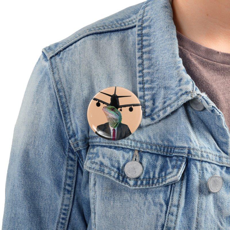 Lizard Agent Accessories Button by TYNICKO Random Randoms Shop