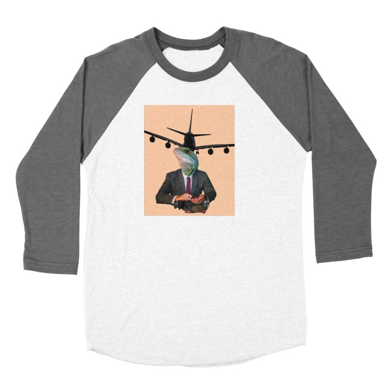 Lizard Agent Women's Longsleeve T-Shirt by TYNICKO Random Randoms Shop