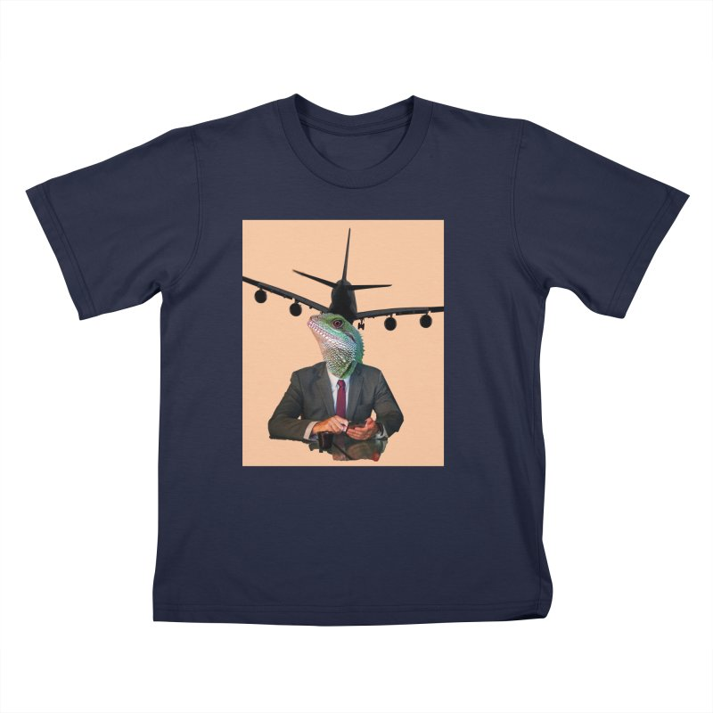Lizard Agent Kids T-Shirt by TYNICKO Random Randoms Shop