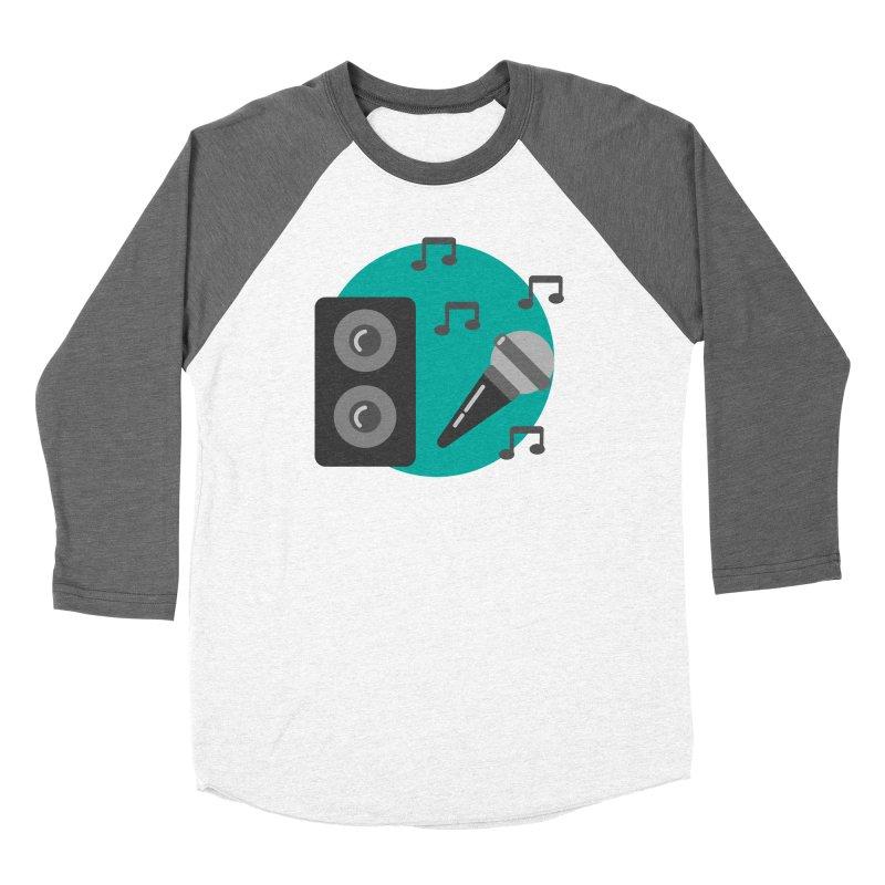 Mike & Speaker Women's Longsleeve T-Shirt by TYNICKO Random Randoms Shop