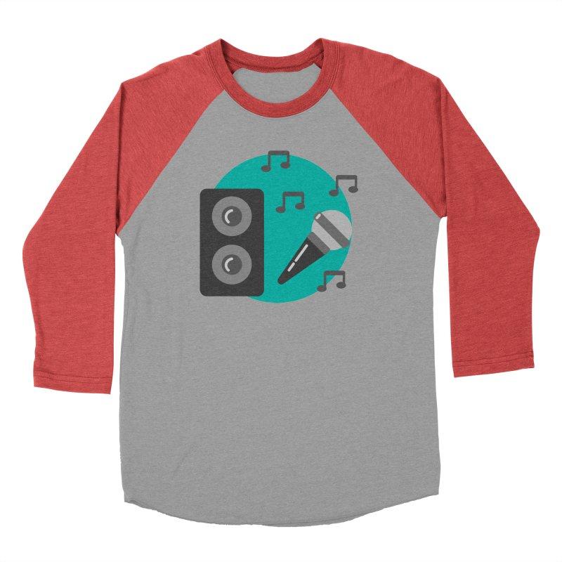 Mike & Speaker Men's Longsleeve T-Shirt by TYNICKO Random Randoms Shop