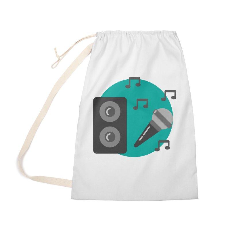 Mike & Speaker Accessories Bag by TYNICKO Random Randoms Shop