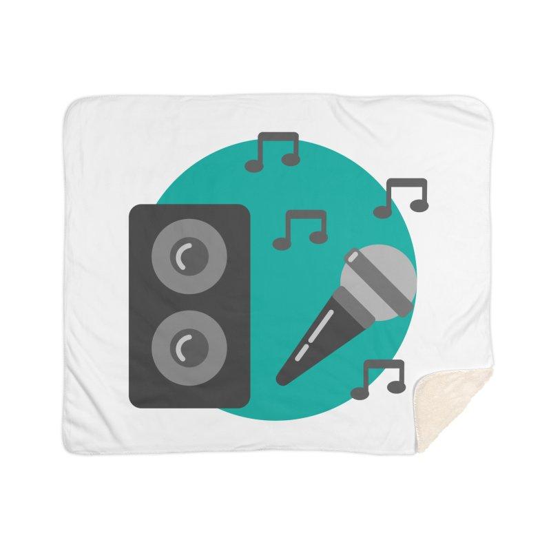 Mike & Speaker Home Blanket by TYNICKO Random Randoms Shop