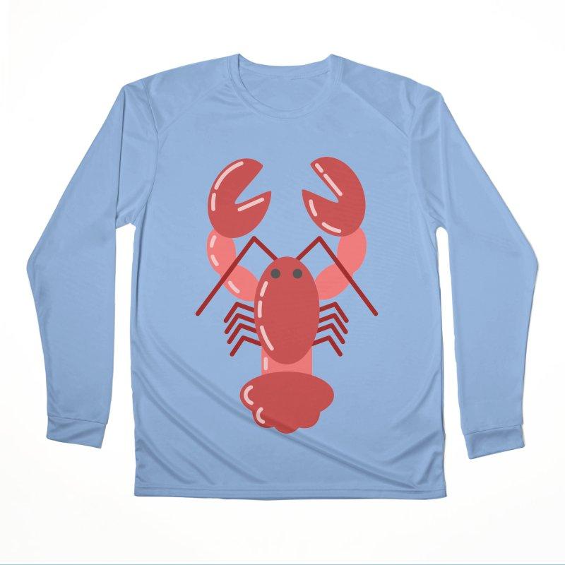 Squishy Lobster Men's Longsleeve T-Shirt by TYNICKO Random Randoms Shop