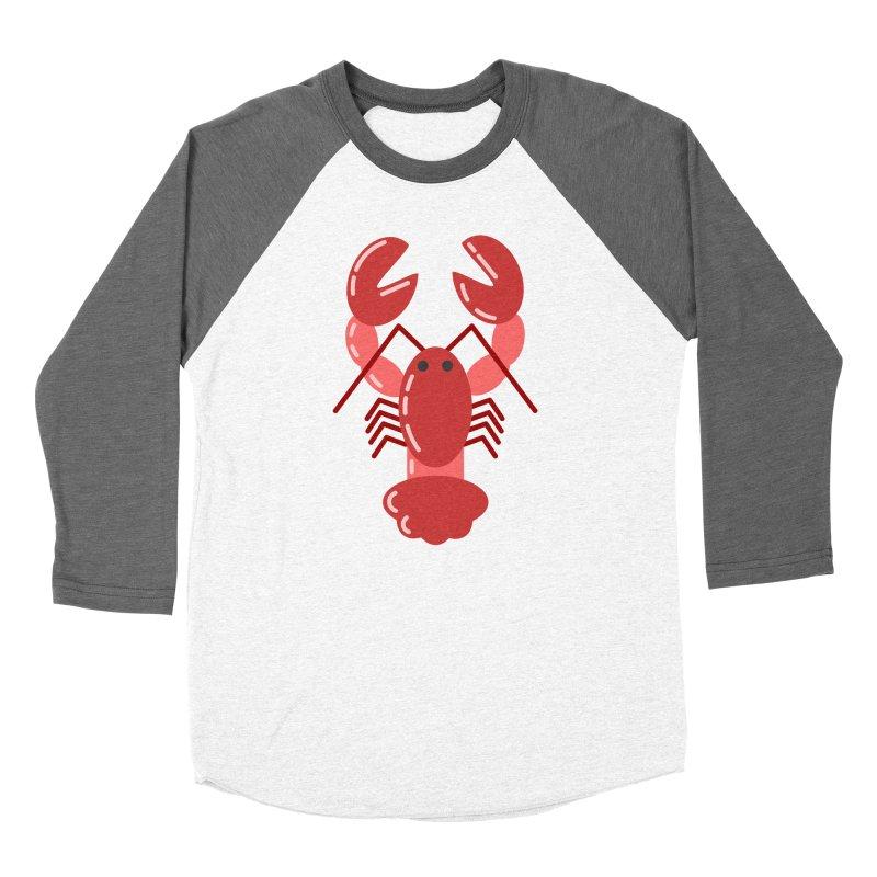 Squishy Lobster Women's Longsleeve T-Shirt by TYNICKO Random Randoms Shop