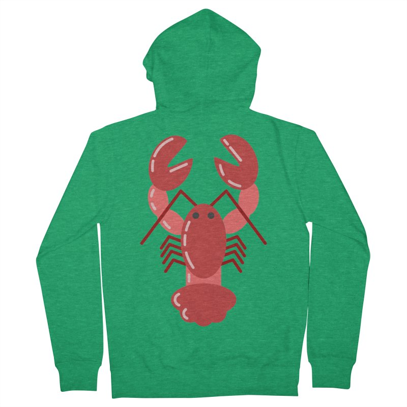 Squishy Lobster Women's Zip-Up Hoody by TYNICKO Random Randoms Shop