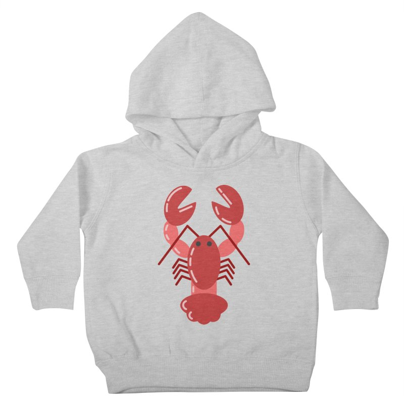 Squishy Lobster Kids Toddler Pullover Hoody by TYNICKO Random Randoms Shop