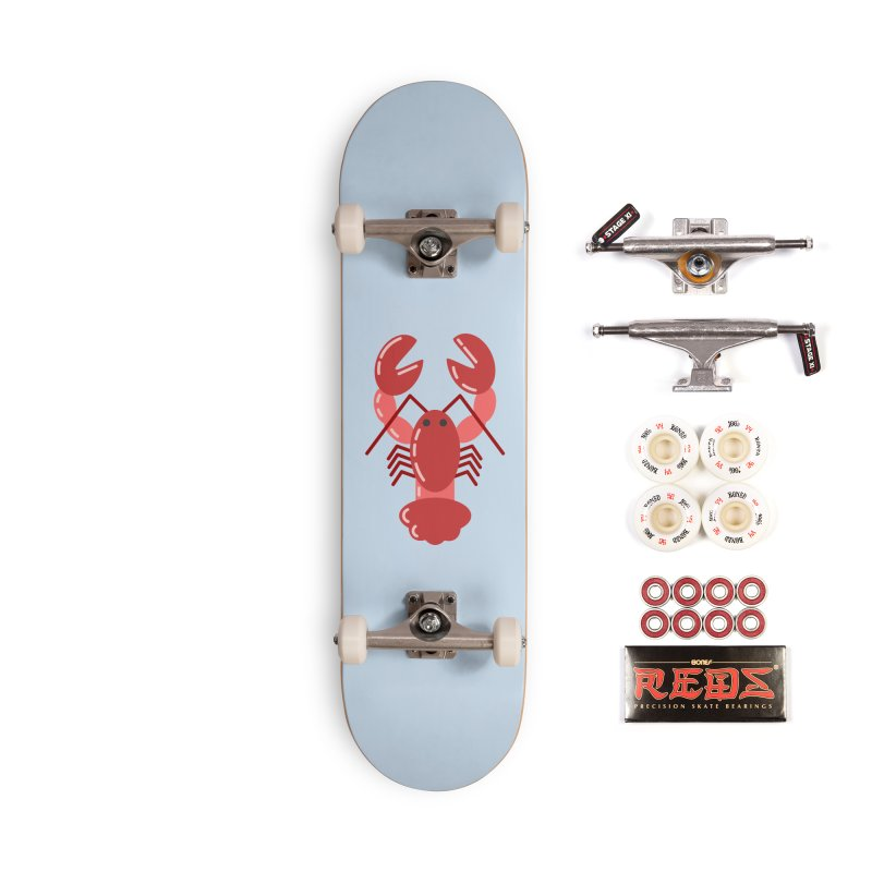 Squishy Lobster Accessories Skateboard by TYNICKO Random Randoms Shop