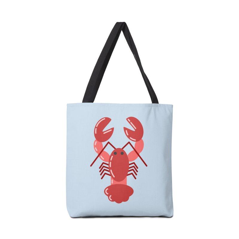 Squishy Lobster Accessories Bag by TYNICKO Random Randoms Shop