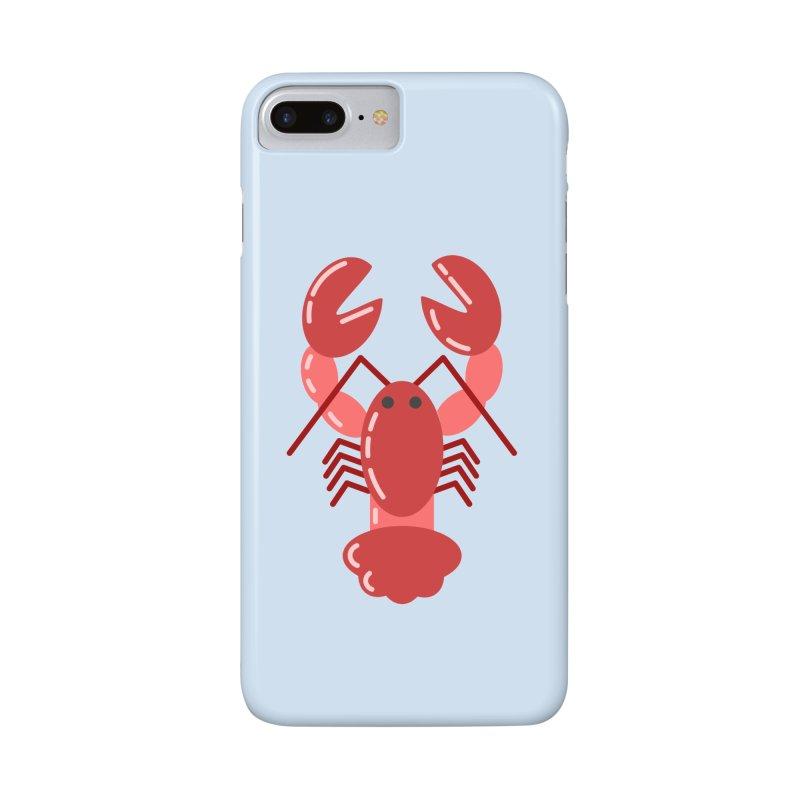 Squishy Lobster Accessories Phone Case by TYNICKO Random Randoms Shop