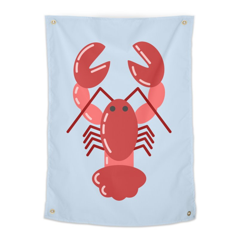 Squishy Lobster Home Tapestry by TYNICKO Random Randoms Shop