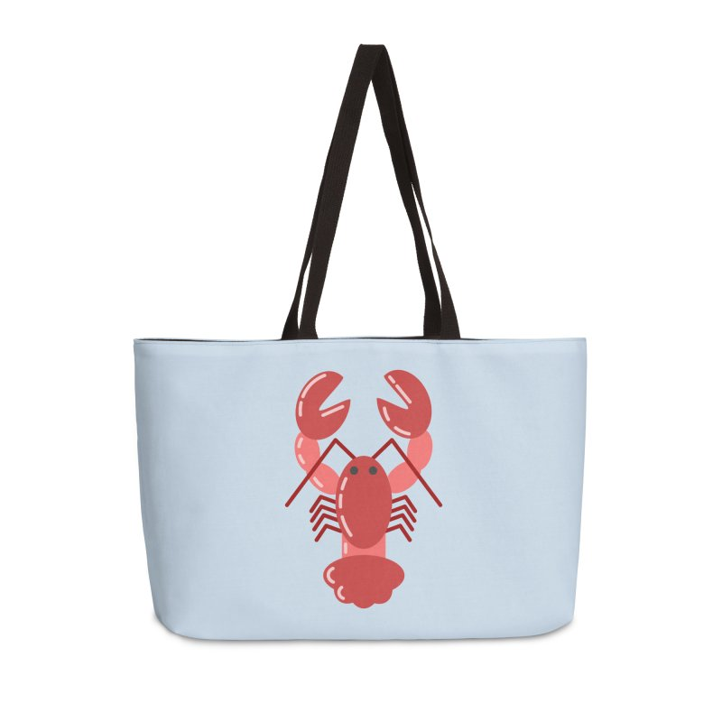 Squishy Lobster Accessories Bag by TYNICKO Random Randoms Shop