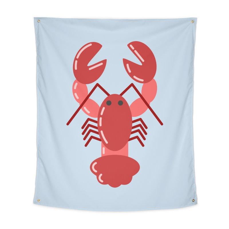 Squishy Lobster Home Tapestry by TYNICKO Random Randoms Shop