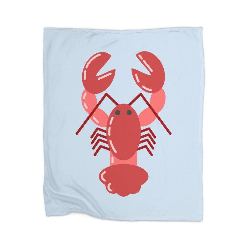 Squishy Lobster Home Blanket by TYNICKO Random Randoms Shop