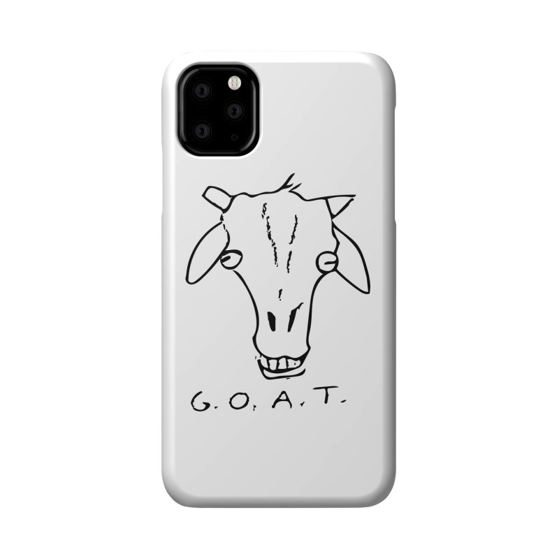 G.O.A.T. Accessories Phone Case by TYNICKO Random Randoms Shop