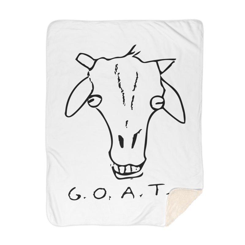 G.O.A.T. Home Blanket by TYNICKO Random Randoms Shop