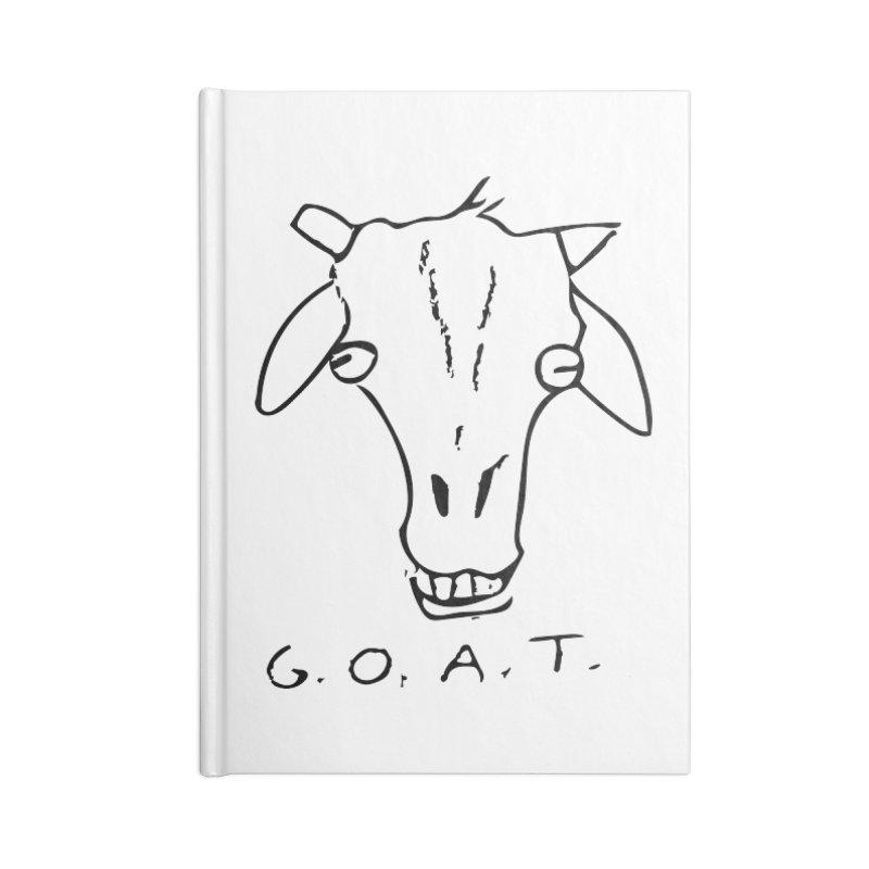 G.O.A.T. Accessories Notebook by TYNICKO Random Randoms Shop