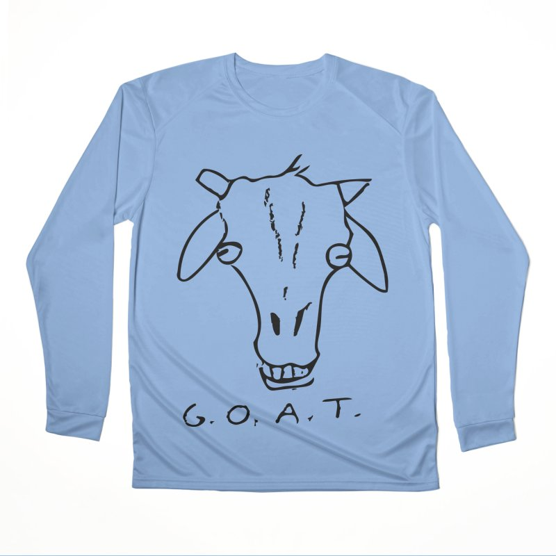 G.O.A.T. Men's Longsleeve T-Shirt by TYNICKO Random Randoms Shop