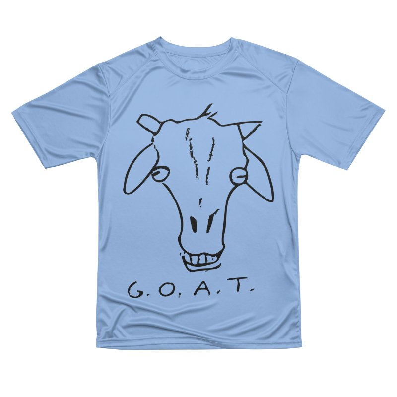 G.O.A.T. Men's T-Shirt by TYNICKO Random Randoms Shop