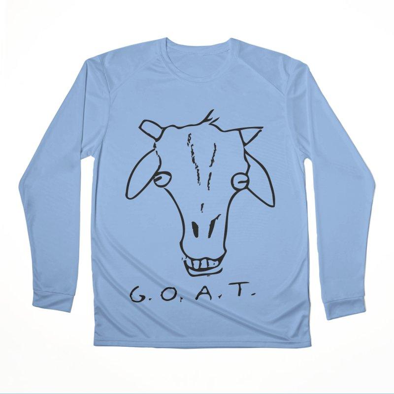 G.O.A.T. Women's Longsleeve T-Shirt by TYNICKO Random Randoms Shop