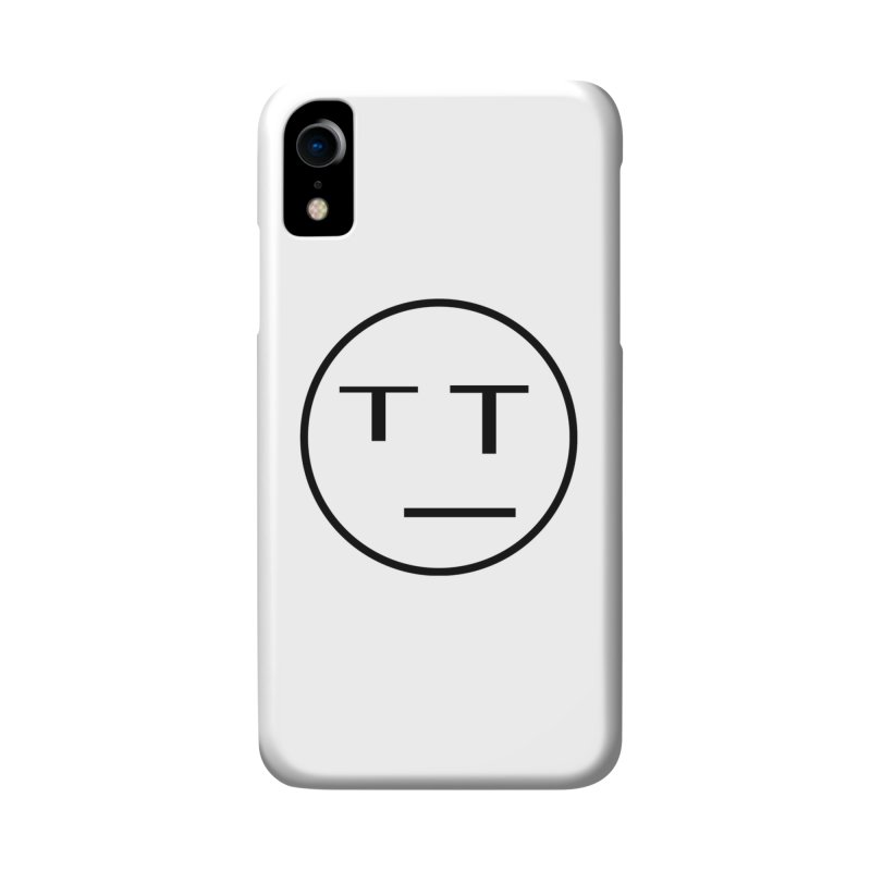Mood Blah (Black) Accessories Phone Case by TYNICKO Random Randoms Shop