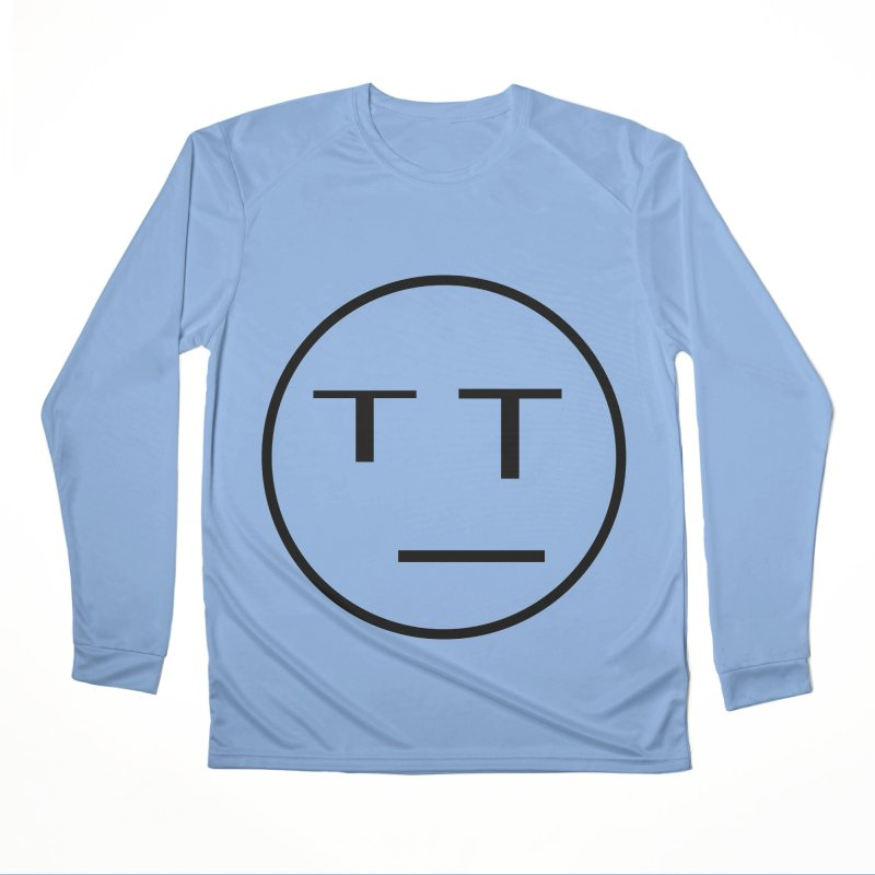 Mood Blah (Black) Men's Longsleeve T-Shirt by TYNICKO Random Randoms Shop