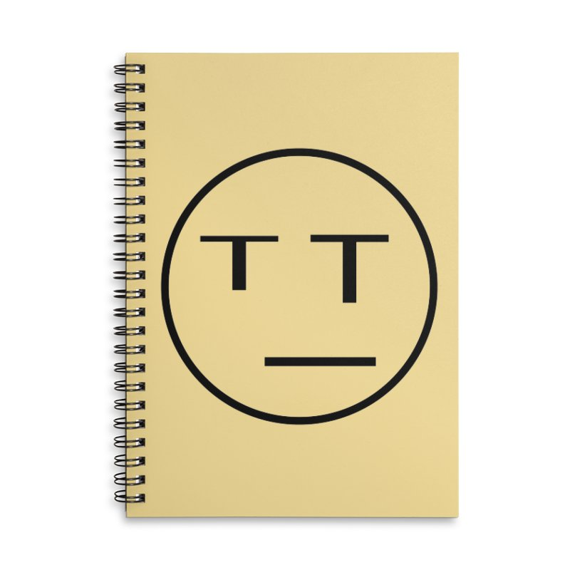 Mood Blah (Black) Accessories Notebook by TYNICKO Random Randoms Shop