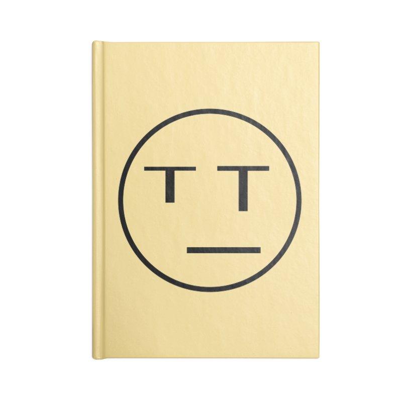 Mood Blah (Black) Accessories Notebook by TYNICKO Random Randoms Shop