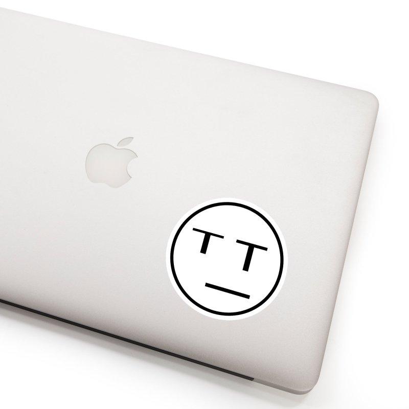 Mood Blah (Black) Accessories Sticker by TYNICKO Random Randoms Shop