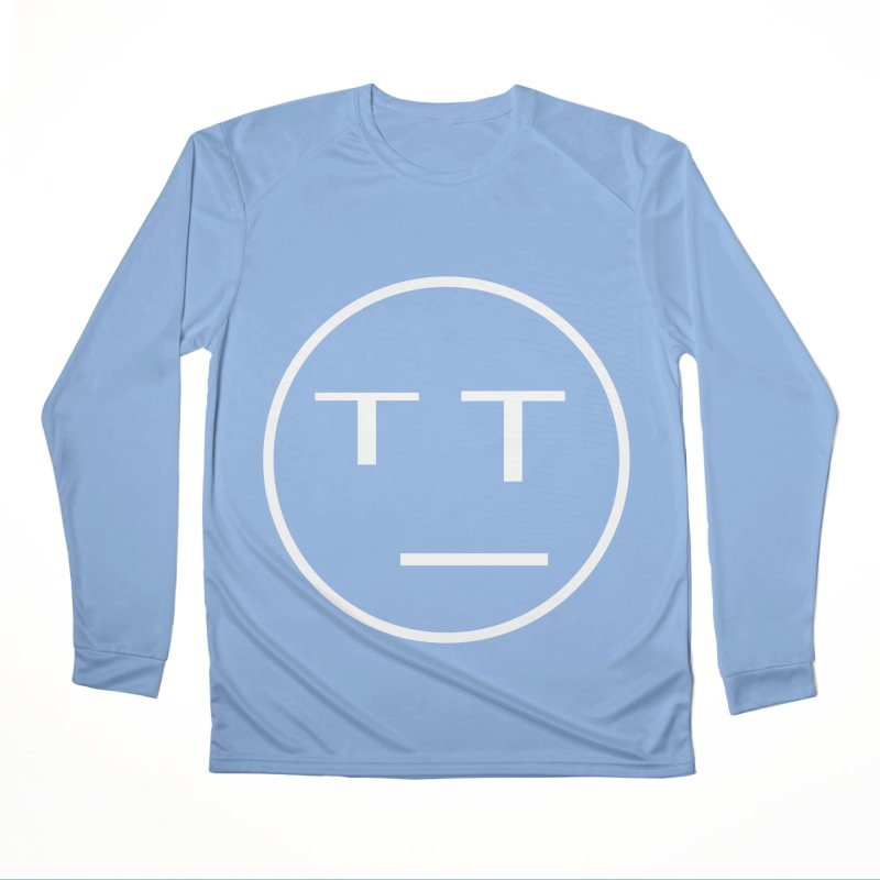 Mood Blah (White) Men's Longsleeve T-Shirt by TYNICKO Random Randoms Shop