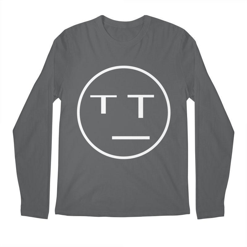 Mood Blah (White) Men's Longsleeve T-Shirt by TYNICKO Random Randoms Shop