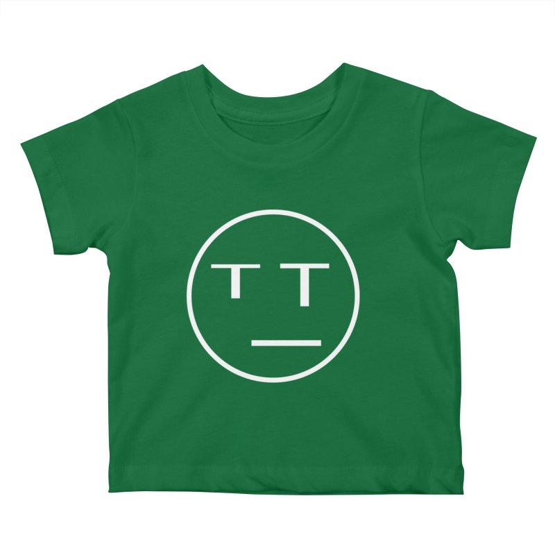 Mood Blah (White) Kids Baby T-Shirt by TYNICKO Random Randoms Shop