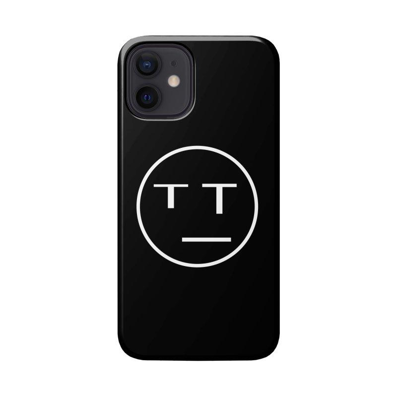 Mood Blah (White) Accessories Phone Case by TYNICKO Random Randoms Shop
