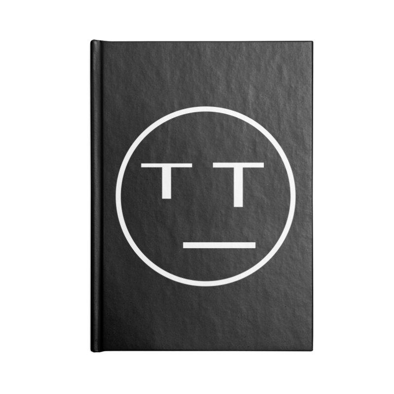 Mood Blah (White) Accessories Notebook by TYNICKO Random Randoms Shop