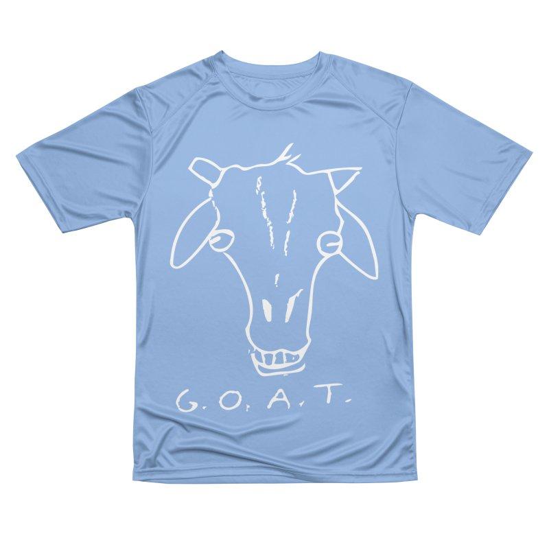 G.O.A.T. (white) Women's T-Shirt by TYNICKO Random Randoms Shop