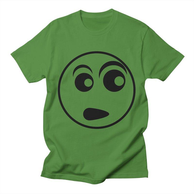 Uh What? (Black) Men's T-Shirt by TYNICKO Random Randoms Shop