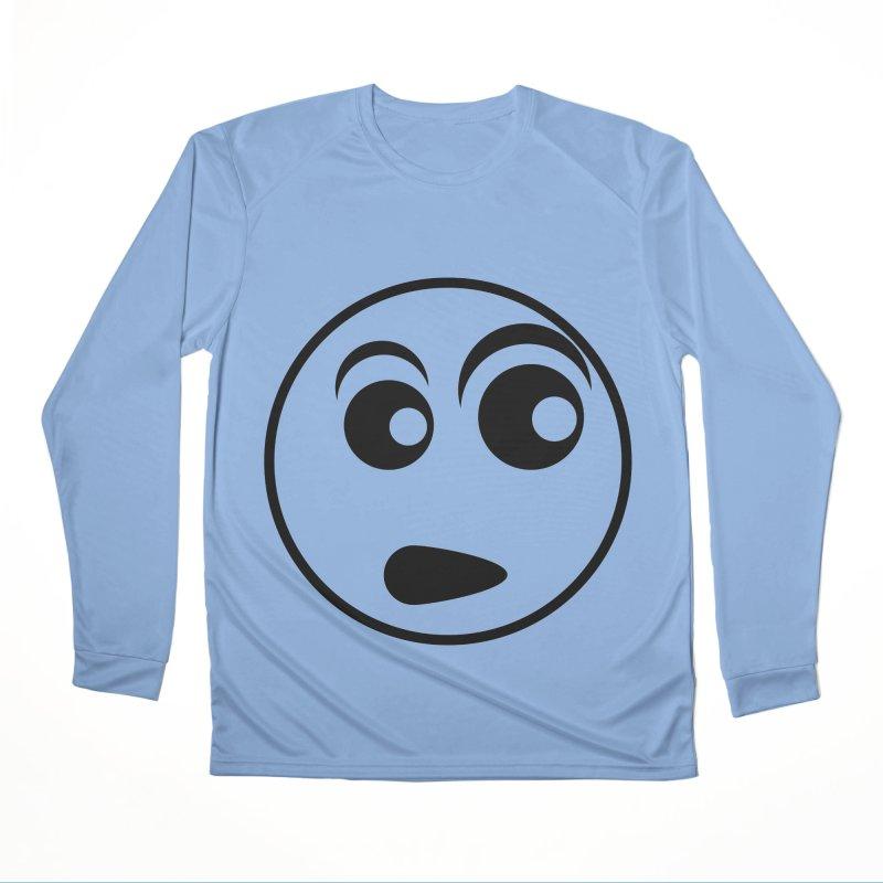 Uh What? (Black) Men's Longsleeve T-Shirt by TYNICKO Random Randoms Shop