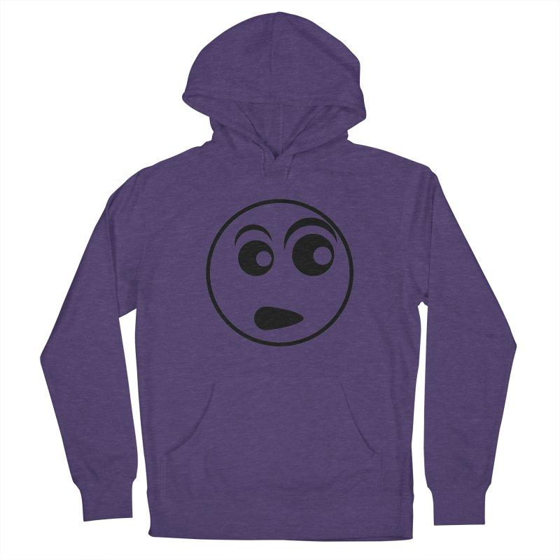 Uh What? (Black) Men's Pullover Hoody by TYNICKO Random Randoms Shop