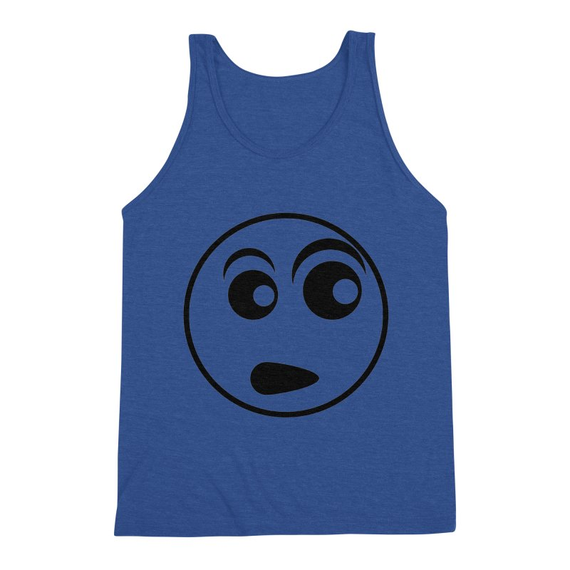 Uh What? (Black) Men's Tank by TYNICKO Random Randoms Shop