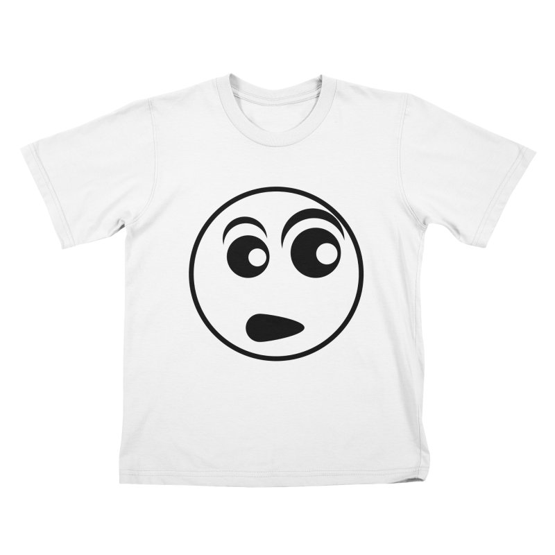 Uh What? (Black) Kids T-Shirt by TYNICKO Random Randoms Shop