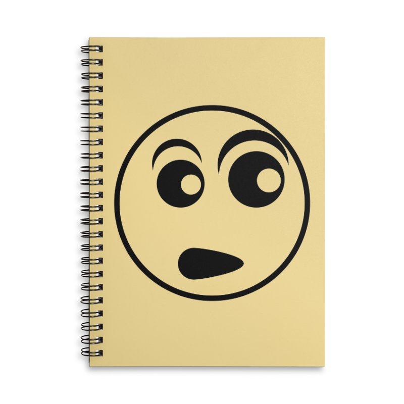 Uh What? (Black) Accessories Notebook by TYNICKO Random Randoms Shop