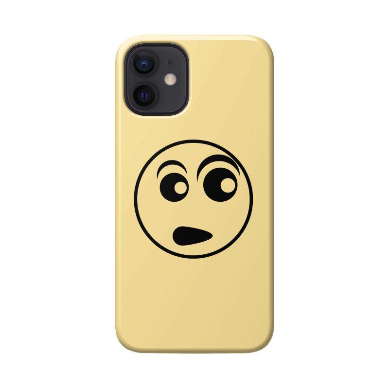 Uh What? (Black) Accessories Phone Case by TYNICKO Random Randoms Shop