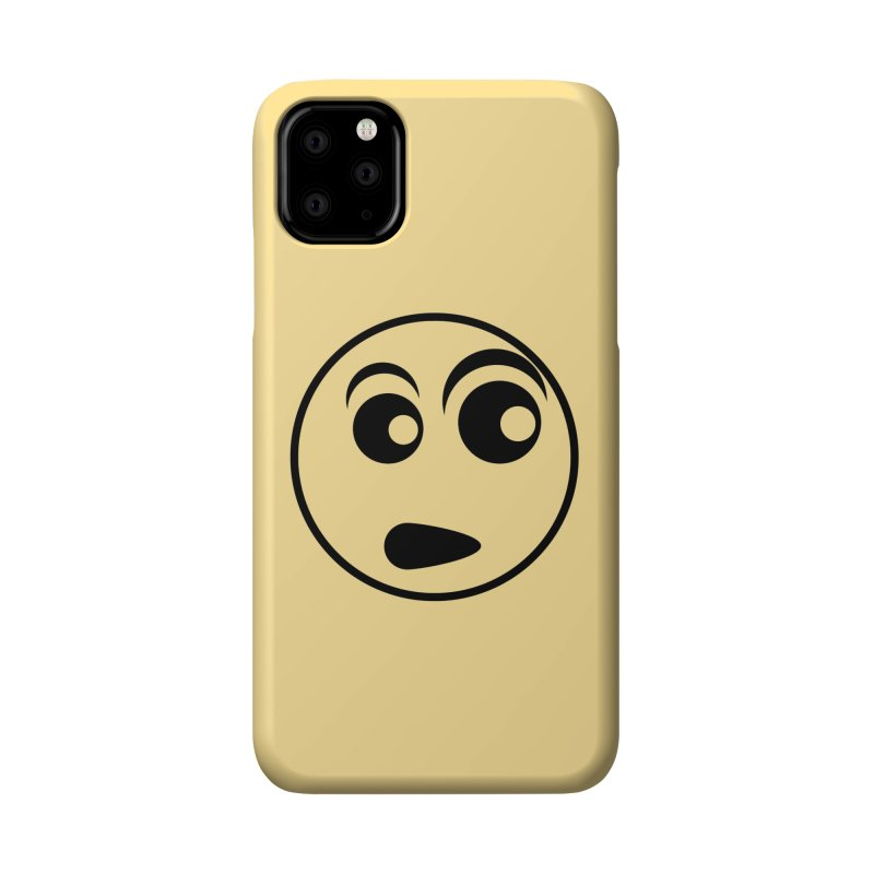 Uh What? (Black) Accessories Phone Case by TYNICKO Random Randoms Shop
