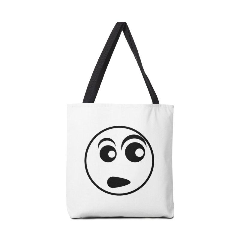 Uh What? (Black) Accessories Bag by TYNICKO Random Randoms Shop