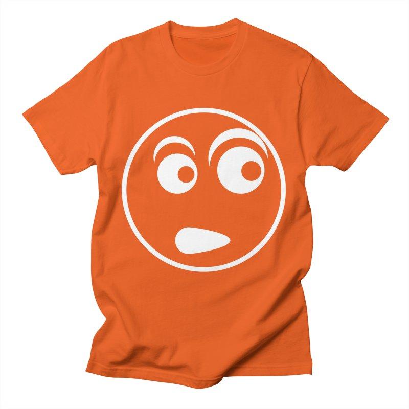 Uh What? (White) Men's T-Shirt by TYNICKO Random Randoms Shop