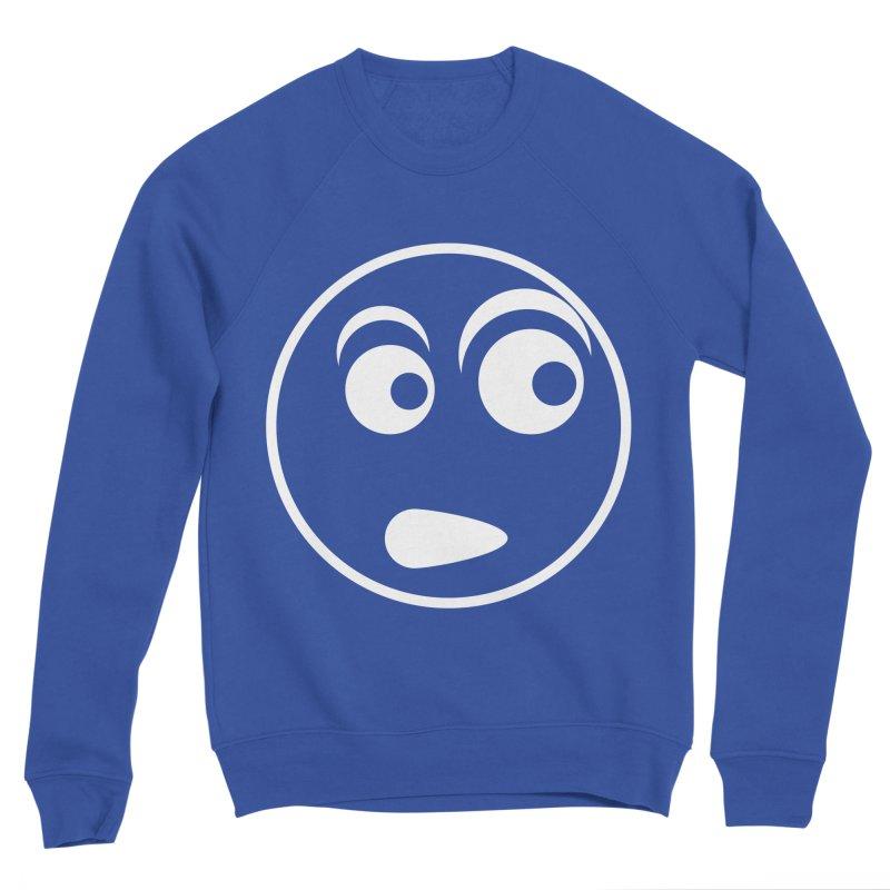 Uh What? (White) Women's Sweatshirt by TYNICKO Random Randoms Shop