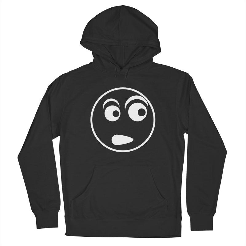 Uh What? (White) Men's Pullover Hoody by TYNICKO Random Randoms Shop