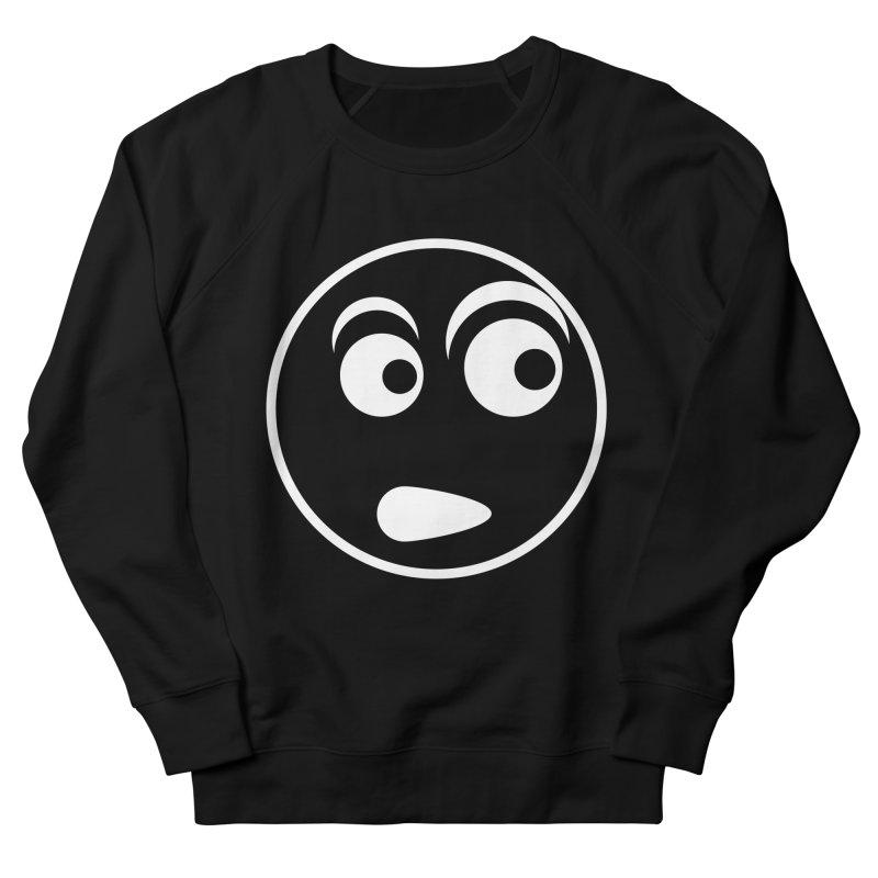 Uh What? (White) Men's Sweatshirt by TYNICKO Random Randoms Shop